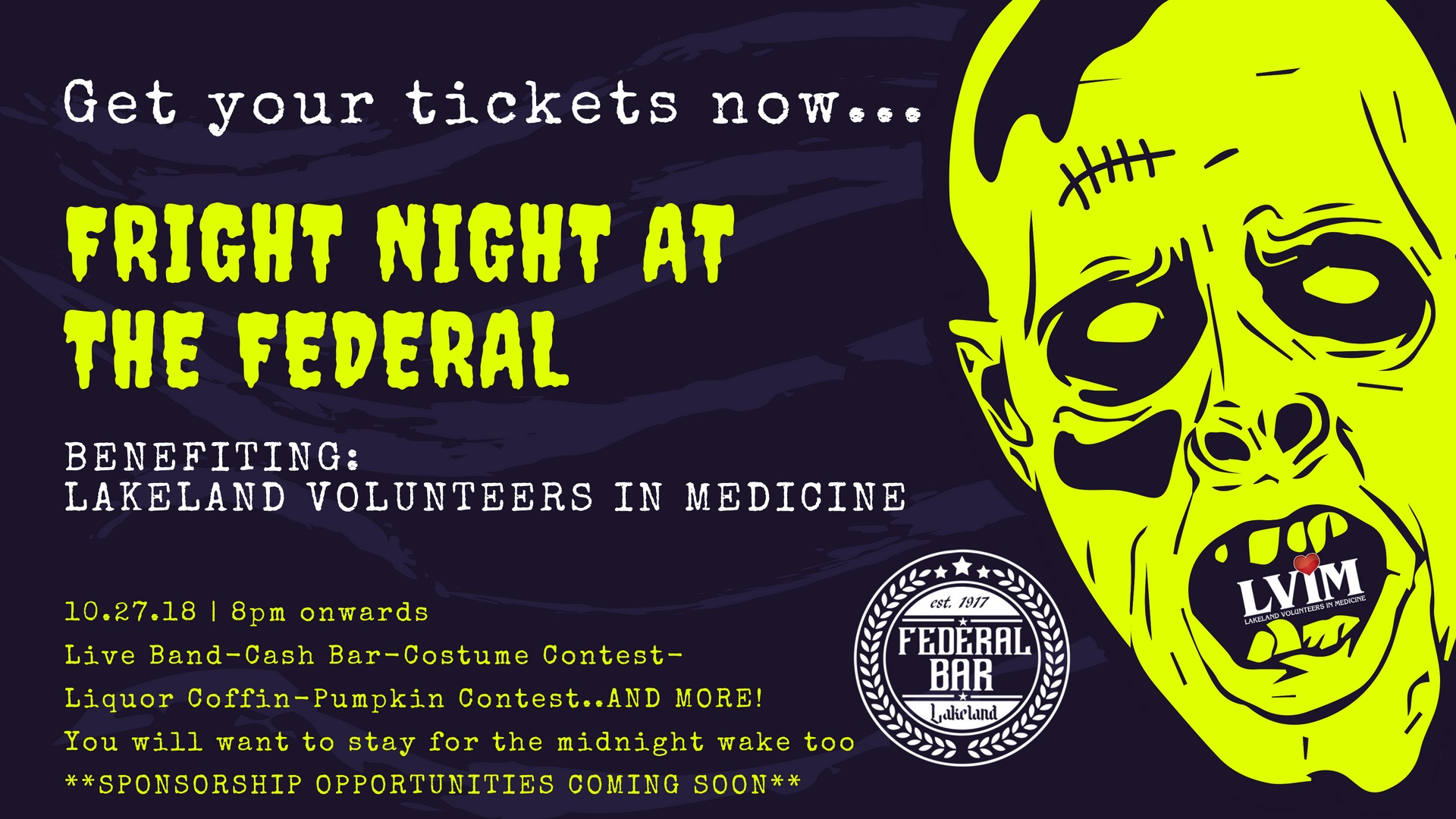Fright Night at the Federal